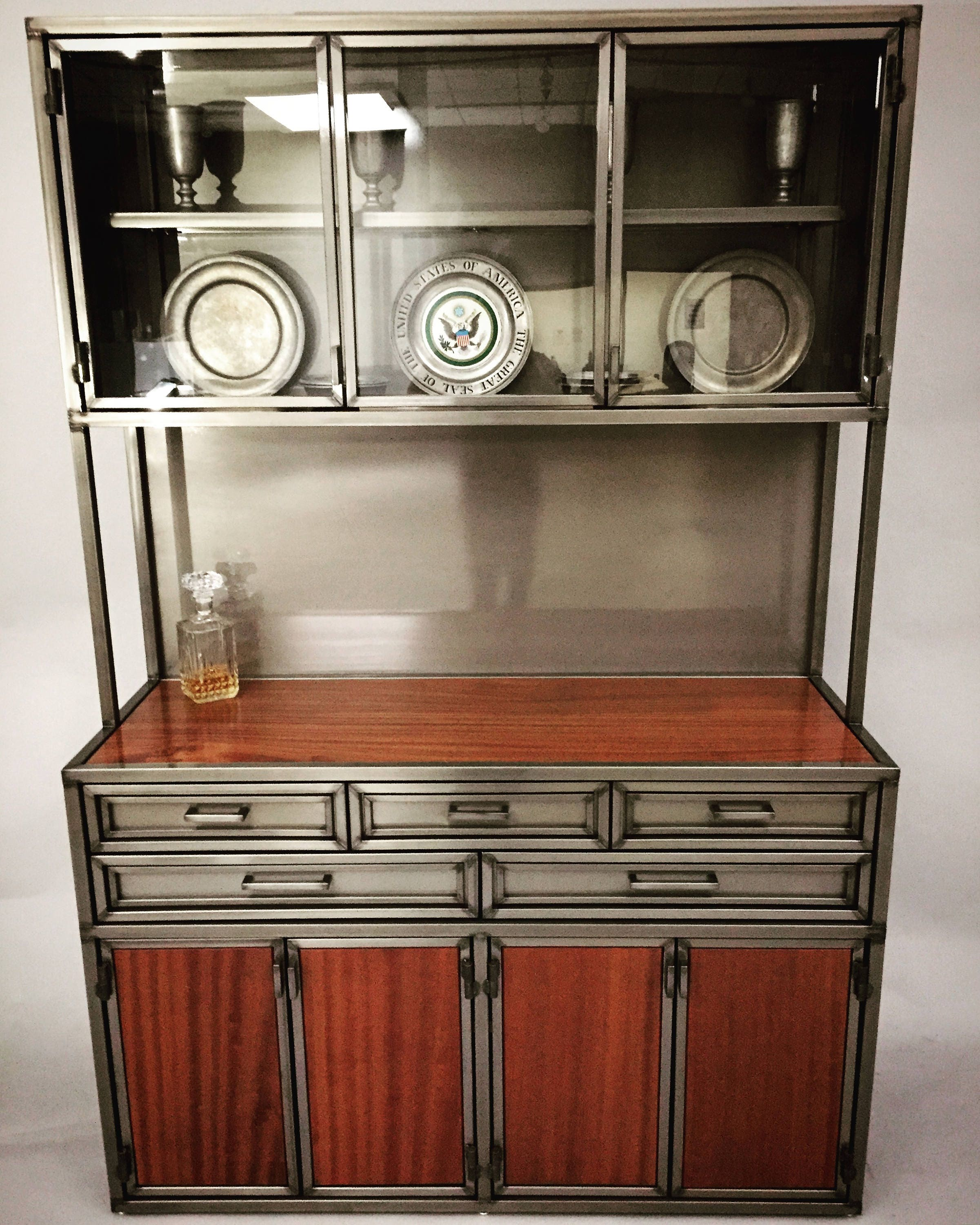 liquor lytebox cabinet top front empire hutch