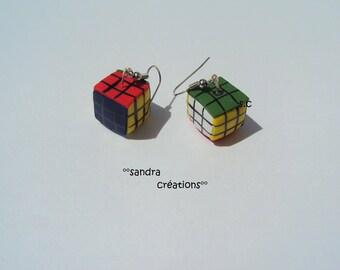 original earring rubik's cube