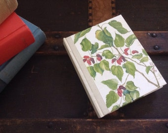 Small Blank Berry & Grape covered journal