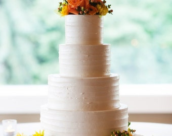 """20"""" Rustic Wood Tree Slice Wedding Cake Base or Cupcake Stand for your Event and Party or even a Newborn Photo Prop"""