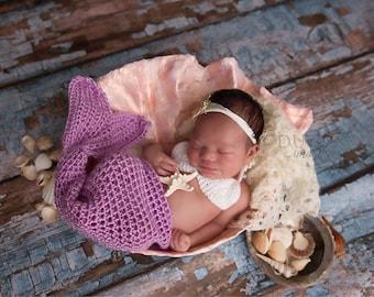 Newborn mermaid outfit, mermaid tail, newborn mermaid, infant mermaid outfit, mermaid costume, infant mermaid set, mermaid newborn, mermaid