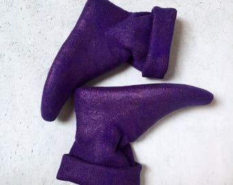 Home socks . Handmade . Socks wool .