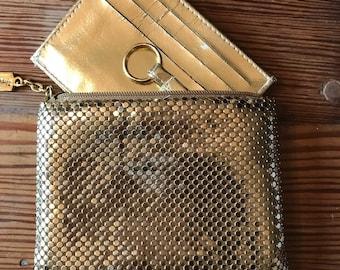 Vintage Whiting & Davis mesh wallet, coinpurse, pocket book