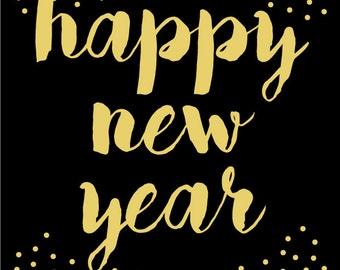 happy new year decor etsy