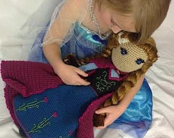 Anna Frozen Crochet PATTERN