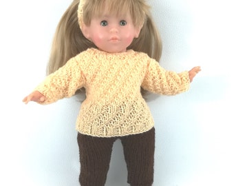 Doll clothes - whole salmon and Brown