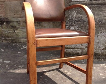 Sold To David. Go on find a better 1950's Art Deco Bentwood chair... I dare you!