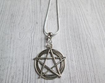 Classic Pagan necklace, Witch Necklace, Wiccan necklace, Pentacle necklace, Pentagram necklace, witchcraft, wiccan jewelry, pagan jewelry