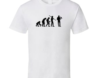 The Evolution Of Falconry Fun Sports T Shirt