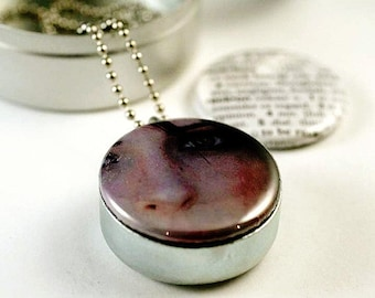 Personalized Picture Locket Necklace by Polarity - 3 Lockets in 1 Magnetic Jewelry, YOUR PHOTOS