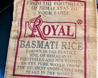 Royal rice bag tote