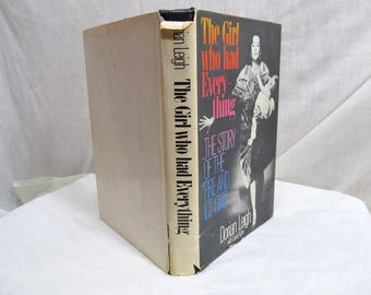 """The Girl Who Had Everything: The Story of """"The Fire and Ice Girl"""", Dorian Leigh Parker, Doubleday 1980 Book 1950's model actress playgirl"""