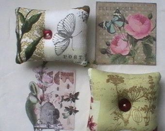 Botanical pincushions