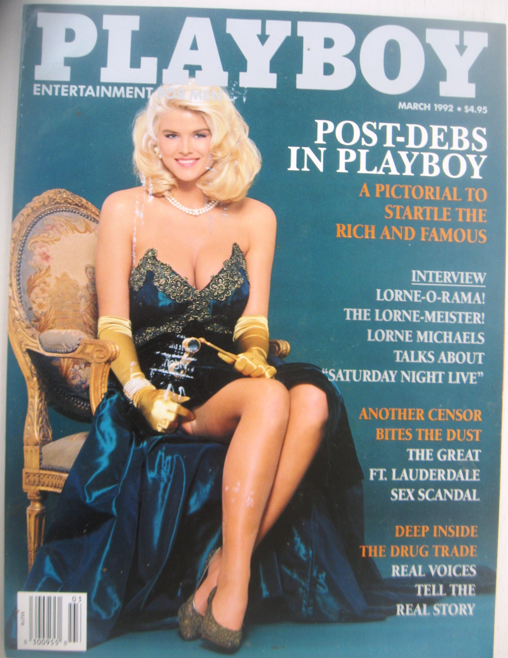PLAYBOY March 1992 Excellent condition FREE SHIPPING