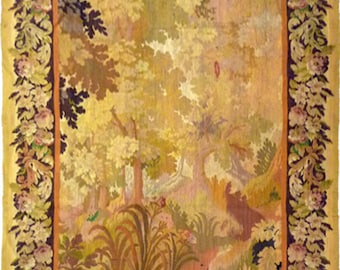 19th Century Aubusson Tapestry