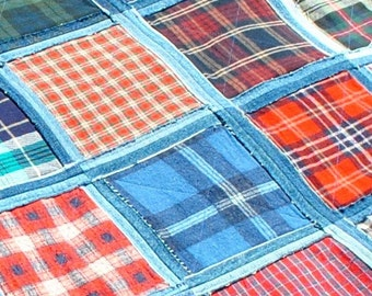 Denim Picnic Blanket pdf pattern