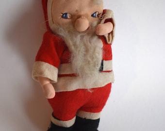 Vintage Sneaky Santa