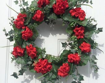 Summer Wreaths, Summer Front Door Wreath, Natural Front Door Wreath