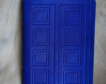 River Song inspired A5 leather Journal