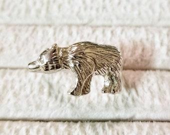 Sterling silver Bear ring