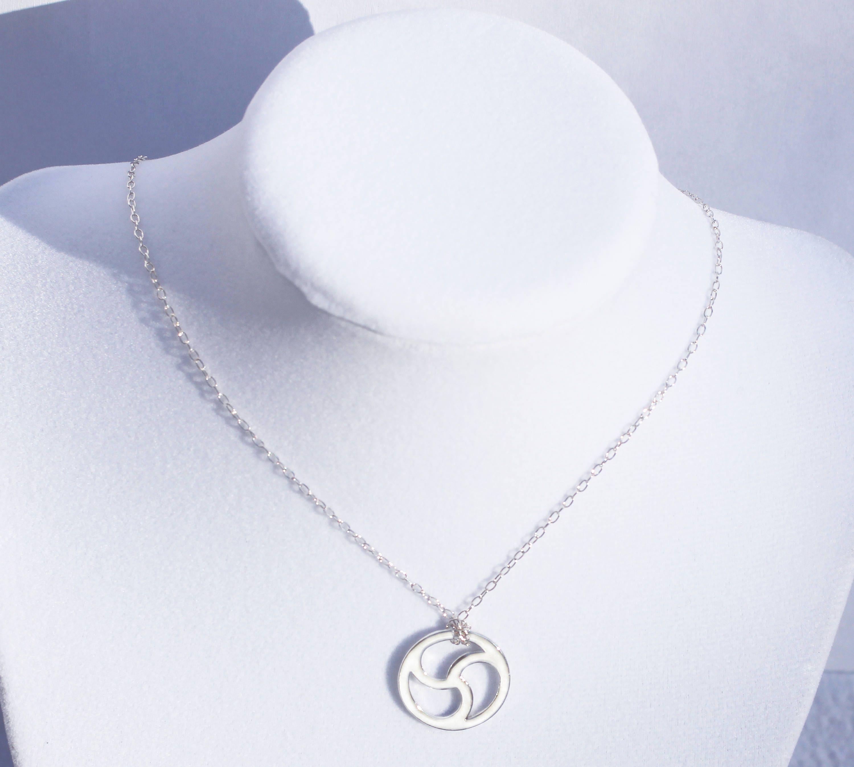 Sterling silver triskele bdsm symbol necklace bdsm emblem description sterling silver triskele bdsm symbol necklace biocorpaavc Gallery