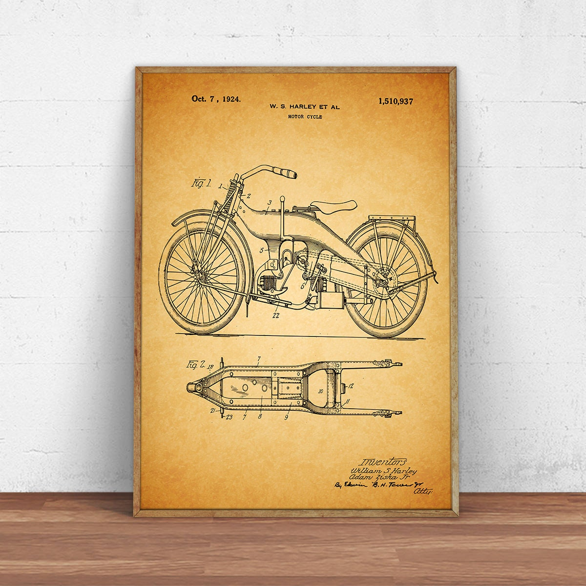 Old Fashioned Harley Davidson Wall Decor Photos - The Wall Art ...