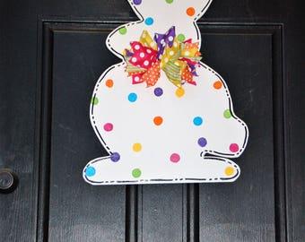 Spring Bunny Door Sign