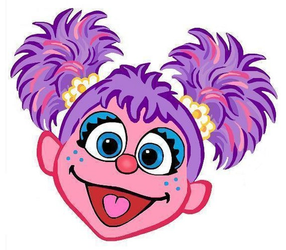 This is a graphic of Candid Abby Cadabby Clipart