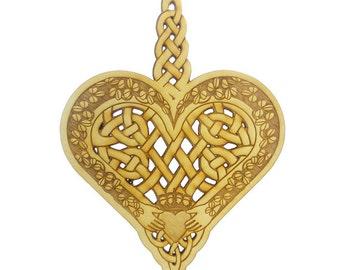 Celtic Ornament - Celtic Ornaments - Celtic Gift - Celtic Design - Irish Decor - Celtic Knot Ornament - Celtic Art - Claddagh Ornament