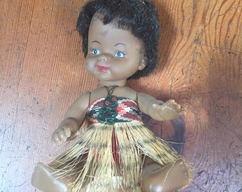 Collectable Maori doll