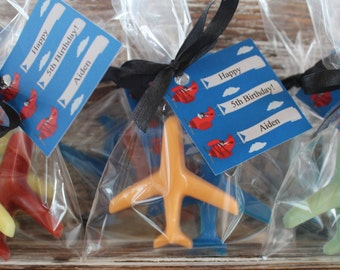 Airplane Soap Favors: Party favors, birthday favors, airplane favors, airplane soap, babys first birthday, pilot soap, baby shower favors