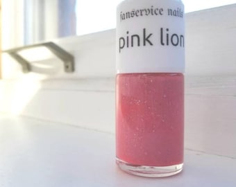 Pink Lion Custom Nail Polish