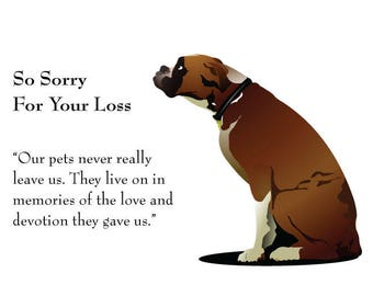 Image result for so sorry for your loss of your dog