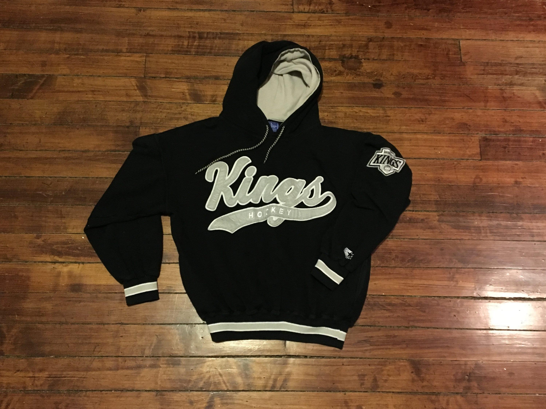 828675782 Los Angeles Kings Starter Hoodie sweatshirt vintage NHL hockey