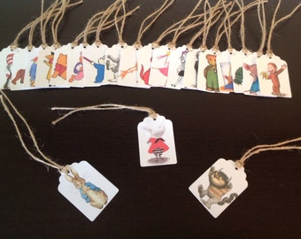 Storybook Character Tags, set of 20