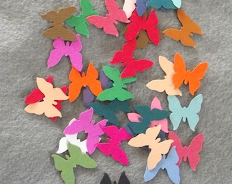 Cardstock Butterfly Confetti Punches-30 Count