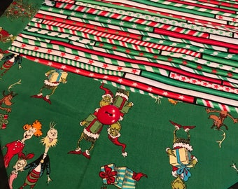 The Grinch and Cindy Lou Who Table Runner