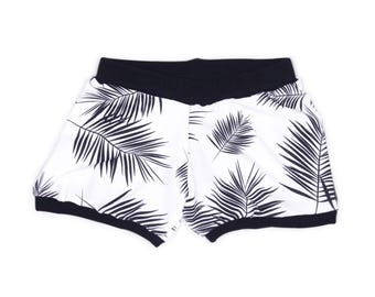 Black Palm Shorts