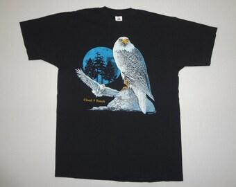 Cloud 9 Ranch Eagle T-Shirt Vintage 1990s L