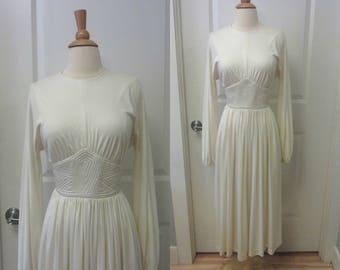 1970s Donald Brooks dress | 70's High Fashion Designer