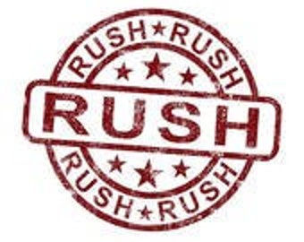 Add on for Rush Order