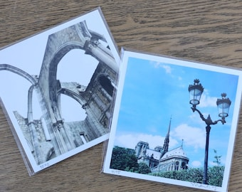 Gothic Architecture *PAIR* Travel Photography Prints