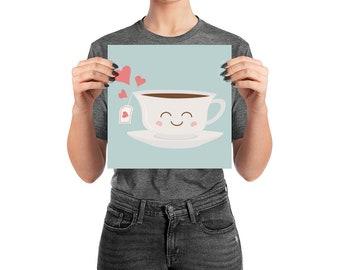 Happy Tea Poster