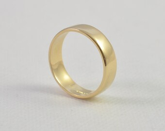 18ct Gold Man's Wedding Ring