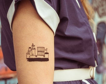 TEMPORARY TATTOO - ship
