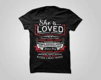 She is Loved Original T-Shirt
