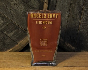 Bourbon Gifts / Angel's Envy Whiskey Candle / Bourbon Bottle Candle / Soy Candle / Gifts for men / Bourbon Lovers Gift / Man Candles / Gift