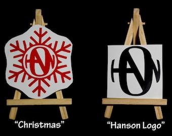 Hanson logo decal - Hanson Finally It's Christmas logo decal - Fanson -vinyl stickers
