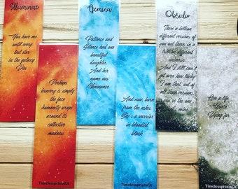 Illuminae Series SET- Bookmarks