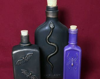 Apothecary Bottles Group B